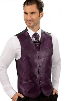 costume homme costume guy laurent gilet de costume homme prune 2332 22 - Costume Mariage Homme 3 Pieces