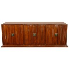 Stunning Six Door Cabinet by Tommi Parzinger for Parzinger Originals | From a unique collection of antique and modern buffets at http://www.1stdibs.com/furniture/storage-case-pieces/buffets/