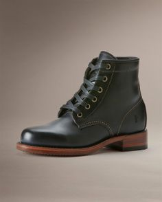 Arkansas Mid Leather - View All Women's Boots - Western Boots, Riding Boots & More - The Frye Company