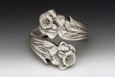 Lilly Spoon Ring   Silver Spoon Jewelry