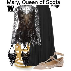 Reign on pinterest torrance coombs reign and adelaide kane for Mary queen of scots replica jewelry