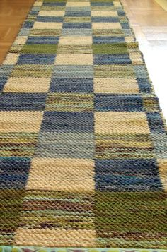 Mattor m.m. Inkle Loom, Tear, Weaving Patterns, Rug Hooking, Woven Rug, Home Textile, Fiber Art, Rag Rugs, Bohemian Rug