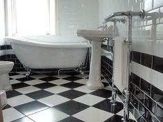 black and white bathroom - Hľadať Googlom