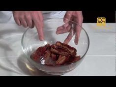 ▶ Rehidratar tomates secos - YouTube