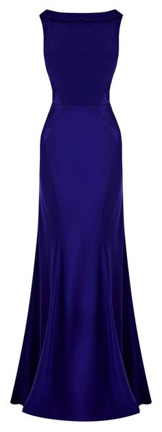 Different neck line would make this PERFECT! -Coast Adelise Maxi Dress with Fishtail Hem Evening Maxi Dresses, Elegant Evening Gowns, Elegant Dresses Classy, Elegant Maxi Dress, Simple Prom Dress, Gala Dresses, Royal Blue Gown, Royal Blue Evening Gown, Royal Blue Outfits