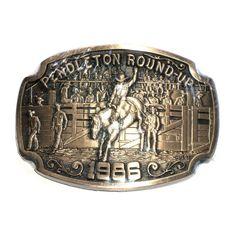 Nocona Brown Longhorn Gürtelschnalle Western Buckle Cowboy USA