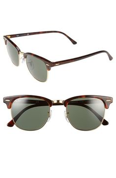 07dbb1a9ef Ray-Ban  Clubmaster  51mm Sunglasses available at  Nordstrom Clubmaster  Sunglasses