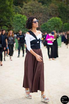 Yasmin in Isa Arfen & Prada. legend. Paris. #YasminSewell