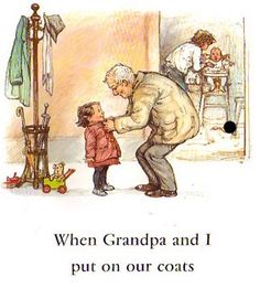 Shirley Hughes is easily my favourite illustrator. I read the Alfie books when I was little and they've stayed with me ever since. The illustrations are just so beautiful.