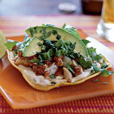 Chipotle Fish Tostadas | Coastalliving.com