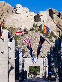 Mount Rushmore National Memorial, South Dakota.