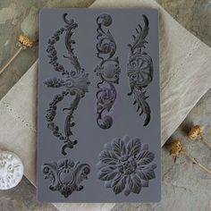 Prima+-+Iron+Orchid+Desgins+-+Vintage+Art+Decor+Mould+-+Baroque+3+at+Scrapbook.com