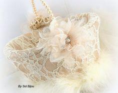 Niña de las flores canasta Champagne rosa Blush rosa oro