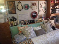 Texas Tech dorm room!
