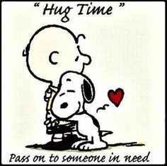 Hug Time quotes positive quotes quote charlie brown snoopy quotes and sayings image quotes