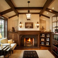 Built In Fireplace Niche Design Ideas, Pictures, Remodel, and Decor - page 11
