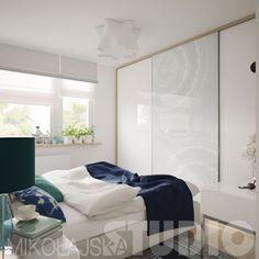 sypialnia w delikatnych kolorach - zdjęcie od MIKOŁAJSKAstudio - Sypialnia - Styl Nowoczesny - MIKOŁAJSKAstudio