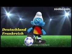 Fußball EM⚽Deutschland und Frankreich im Halbfinale⚽Schlumpf, Zoobe
