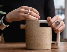 The pieces inAGMES, a new architecture-inspired jewelry line, have such a strong, sculptural presencethat you can picture passing them on to your children
