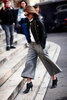 FOTO: ANA CLARA GARMENDIA - MODA PARIS: Street style Paris 2014...