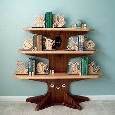 Woodland bookstand- hey @Erin Schofer  and @Nicole Tolsma , think your dad could figure out how to make this?:) so flipping cute.