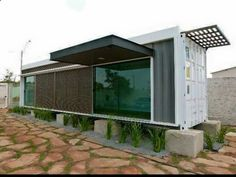 container homes plans Container House - Container conversion - Who Else Wants Simple Step-By-Step Plans To Design And Build A Container Home From Scratch? Who Else Wants Simple Step-By-Step Plans To Design And Build A Container Home From Scratch? Container Home Designs, Shipping Container Design, Container Shop, Shipping Containers, Building A Container Home, Container Buildings, Container House Plans, Container Conversions, Haus Am See