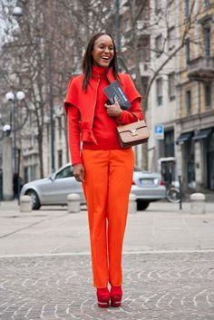 Milan street style fashion week A/W 2013 gallery - Vogue Australia