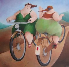 'Dikke Dames' van Marion Sparrius
