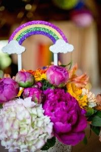 Kara's Party Ideas Rainbow Pony Themed Birthday Party via Kara's Party Ideas KarasPartyIdeas.com The Place for All Things Party! #rainbowparty #ponyparty #ponypartyideas (36) | Kara's Party Ideas