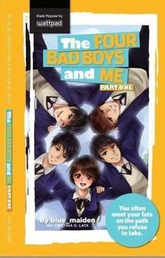 The Four Bad Boys And Me (Published) - Wattpad Wattpad Published Books, Wattpad Book Covers, Wattpad Books, Wattpad Stories, Pop Fiction Books, Fiction Quotes, Books To Read, My Books, Wattpad Quotes