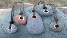 Cape Cod beach stone jewelry | KEM Designs | collection of beautiful stone jewellry