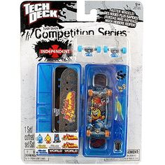 Tech Deck Competition Series [World Industries] $13.79 (8% OFF)