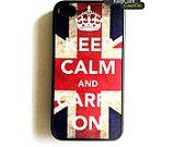 Keep Calm, I phone case