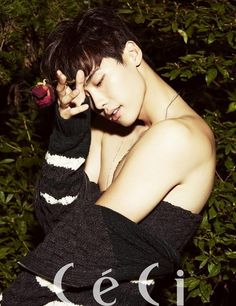 PHOTOS: Lee Jong Suk shows some serious shoulder in CeCi