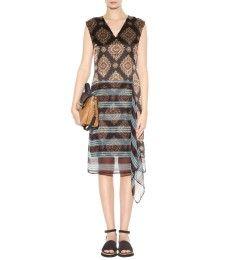Dries Van Noten - Printed silk dress - mytheresa.com