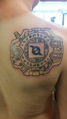 digivice tattoo