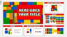 LegoMania a Google Slides template for Math Lessons inspired by Lego blocks   SlidesMania Lego Classroom Theme, Music Classroom, Sixth Grade Reading, Math Sites, Smart Board Lessons, Education Templates, Make A Presentation, Online Lessons, Free Math