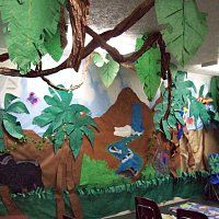 Waterfall/jungle Classroom