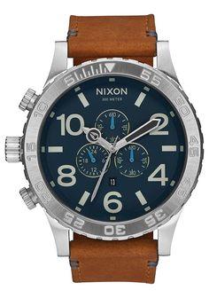 51-30 Chrono Leather | Men's Watches | Nixon Watches and Premium Accessories