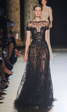 Google Image   Stunning and sexy evening dress by Elie Saab, would work best at a black tie wedding