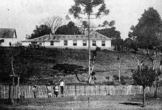 Chácara de Nhá Laura, local onde hoje se ergue o Colégio Estadual do Paraná