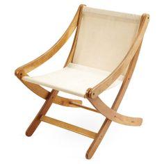 Canvas Safari-Style Chair #huntersalley