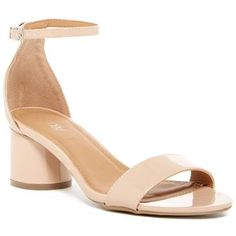 4de2a12b099759 Stuart Weitzman NearlyNude Block Heel Sandals in Adobe Patent Leather -  Kate Middleton Shoes
