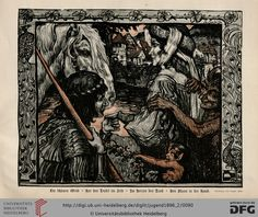 Jugend, German illustrated weekly magazine for art and life, Volume 1.2, 1896.