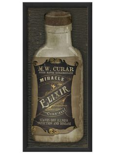Miracle Elixir by Artwork Enclosed on Gilt Home