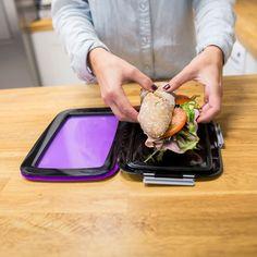 Lunchboxen zijn uit, Compleat Foodskin is in: stijlvol, ruimtebesparend, hygiënisch en flexibel. Perfect voor hongerige volwassenen en ook voor kinderen.