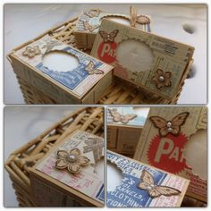 Taschentuchbox Stampin' Up!