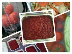 Entre Fraldas e Livros: Deliciosos e Disfarçados: molho de tomate turbinado