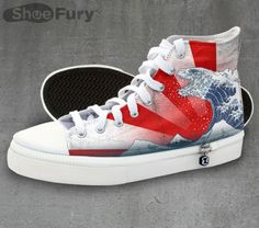 Combine your love of Godzilla, ukiyo-e and fashion with these fresh kicks fromTeeFury | RocketNews24
