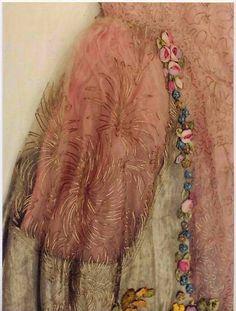 1928 Boue Soeurs dress, detail